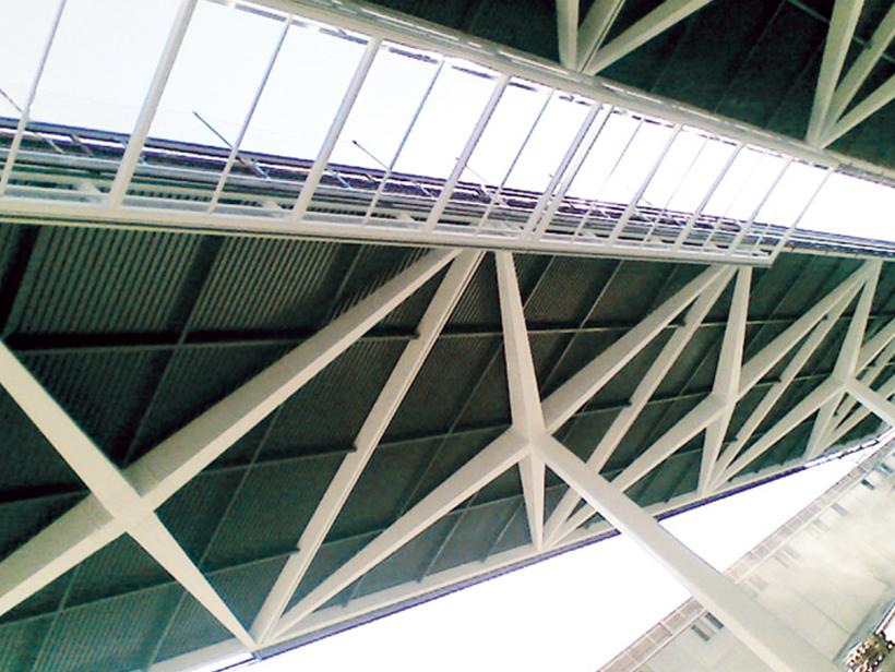 Cubierta y fachada Kalzip en estación AVE Valencia