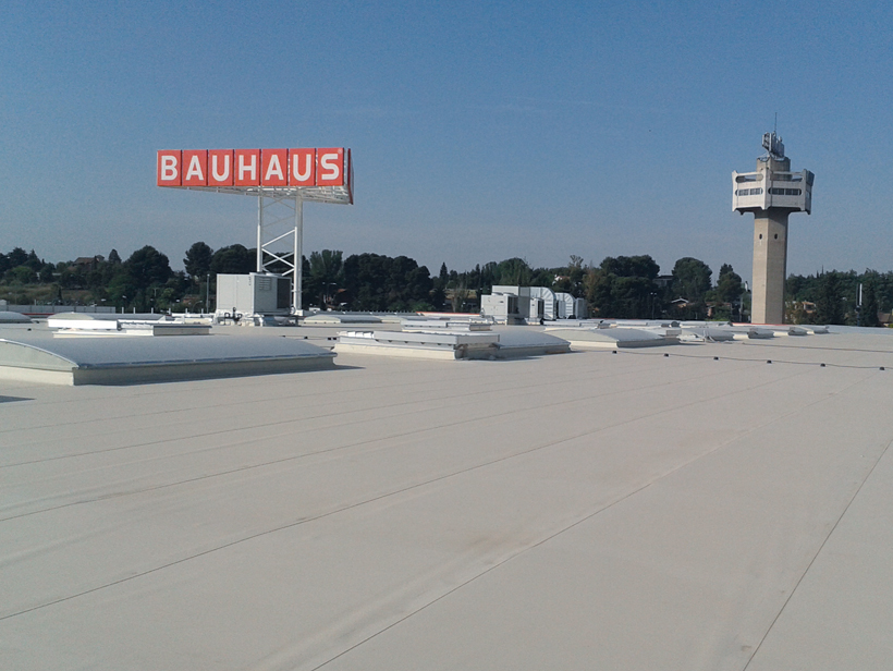 Cubierta Bauhaus Zaragoza