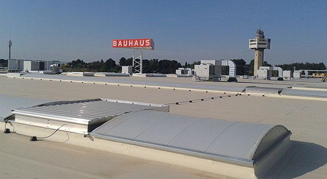 Ventilacion y cubierta Bauhaus