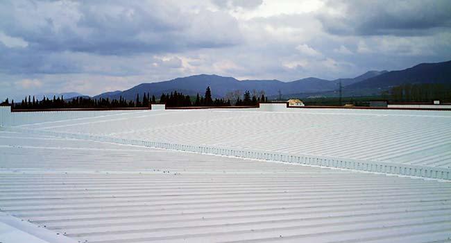 cubiertas metalicas panel