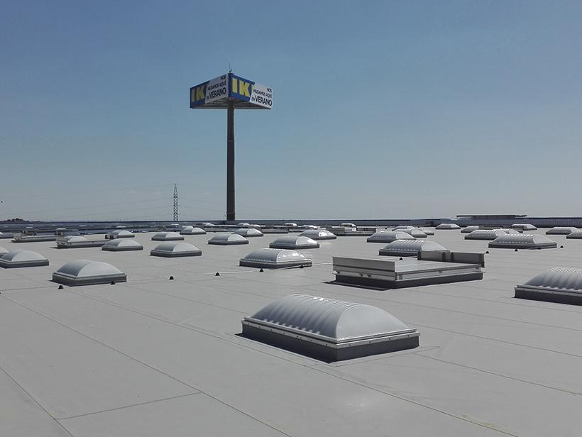Cubierta IKEA Alcorcon