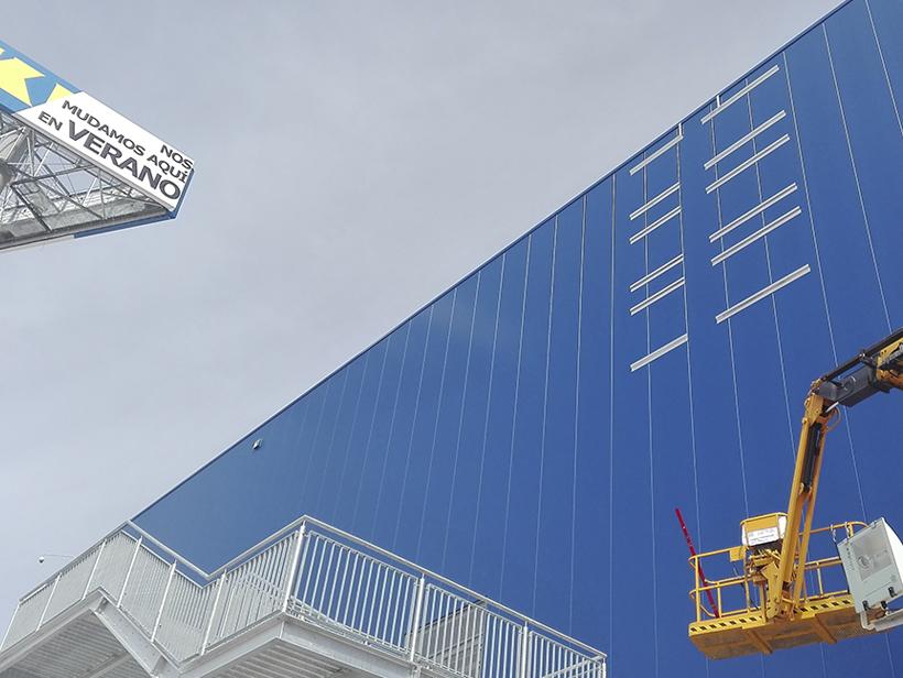 Fachada IKEA Alcorcon
