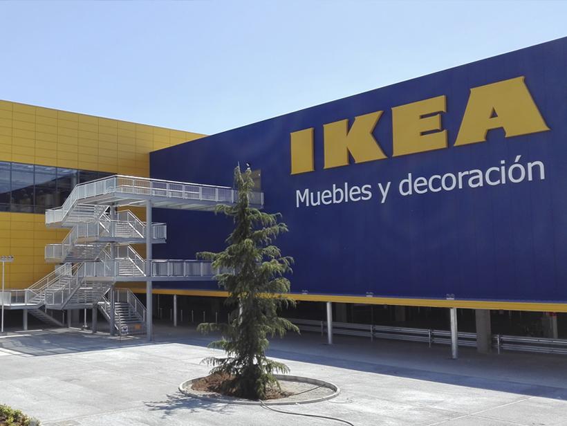 Fachada Ikea Alcorcón