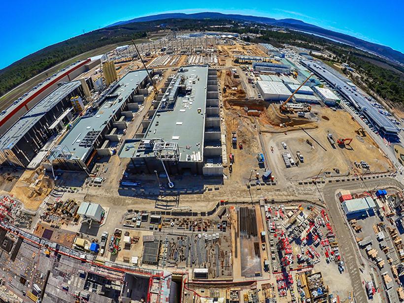 Cubiertas Proyecto ITER Francia