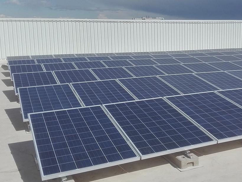 Panel solar Leroy Merlin Barajas