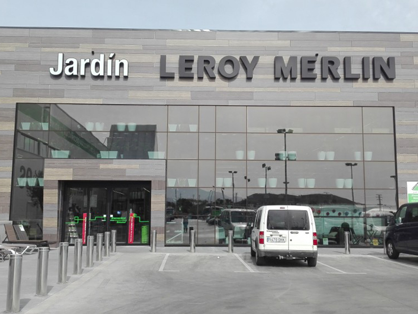 Fachada Leroy Merlin Finestrat