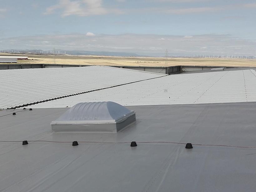Cubierta deck sintética PVC
