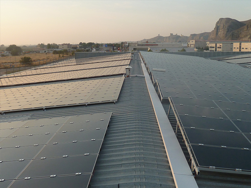 Instalación fotovoltaica Alfajarín